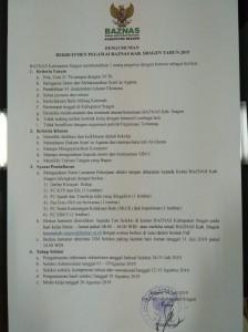 rekruitment pegawai baznas